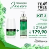 Kit 3 Desodorante de Tea Tree & Aloe (50ml) + Sabonete Liquido de Tea Tree & Aloe para as Mãos (295ml)