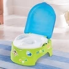 PELELA MY FUN POTTY STEP REDUCTOR CON STICKERS VERDE WAYNA