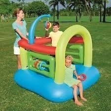 GYM CASTILLO INFLABLE 142 CM X 142 CM X 165 CM BESTWAY