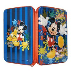 CARTUCHERA METALICA MICKEY MINNIE UN CIERRE METALICA ORIGINAL CRESKO - comprar online