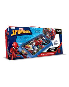 PINBALL ELECTRONICO AVENGERS SPIDERMAN EN CAJA COLOR CON SONIDOS Y LUCES TAPIMOVIL en internet