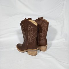 Bota Texana Chocolate en internet