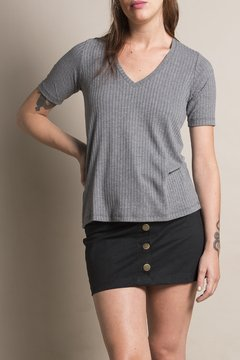 Remera Rema New Gris Oscuro - comprar online