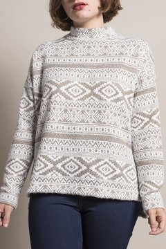 Sweater Pole Beige - comprar online