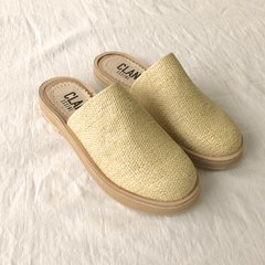 Slipper Crash Beige