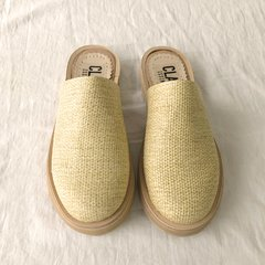 Slipper Crash Beige - comprar online