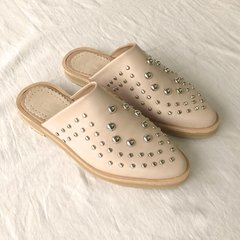 Slipper Tachas Nude