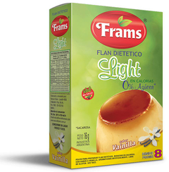 Flan Light de Vainilla - Frams