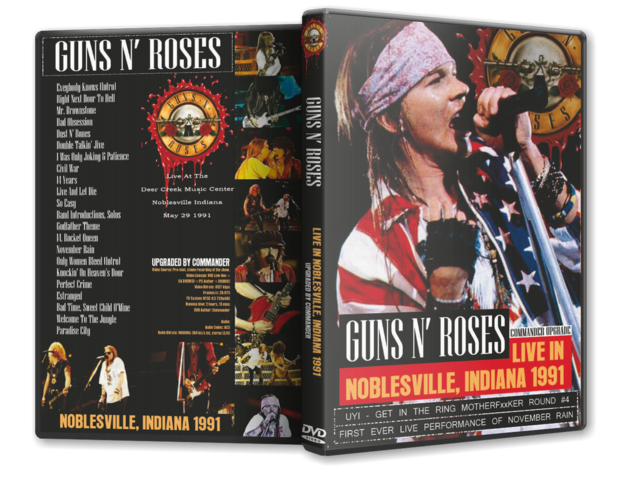 DVD GN'R - Indiana 1991