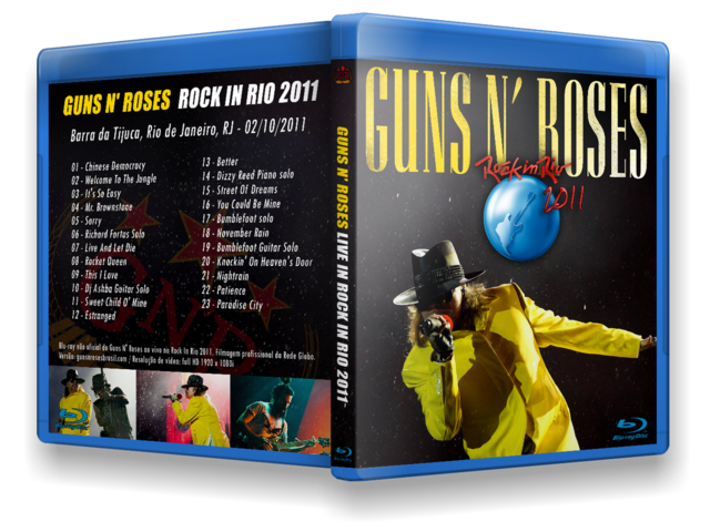 BLU RAY GN'R - Rock In Rio 2011