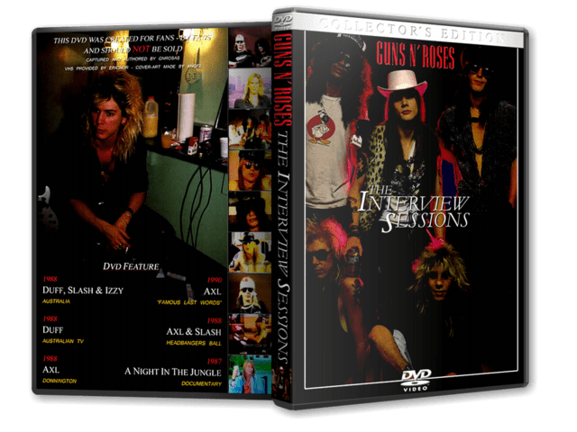 DVD GN'R - The Interview Sessions