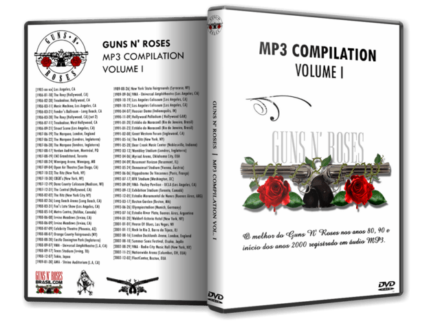 DVD GN'R - MP3 Compilation VOL. 1