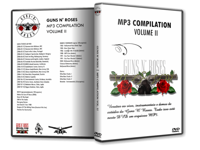 DVD GN'R - MP3 Compilation VOL. 2
