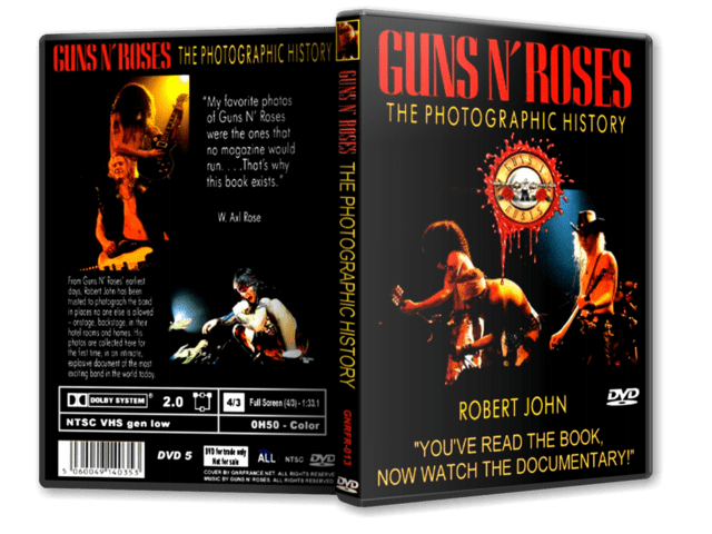 DVD GN'R - The Photographic History
