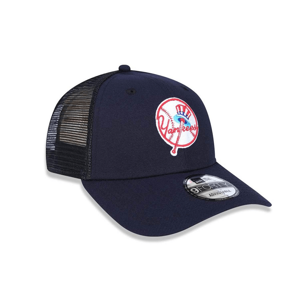 ... Boné New Era 940 Trucker New York Yankees Azul Marinho - comprar online  ... 42d07ec87ab