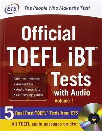 Livro Official Toefl Ibt Tests With Audio