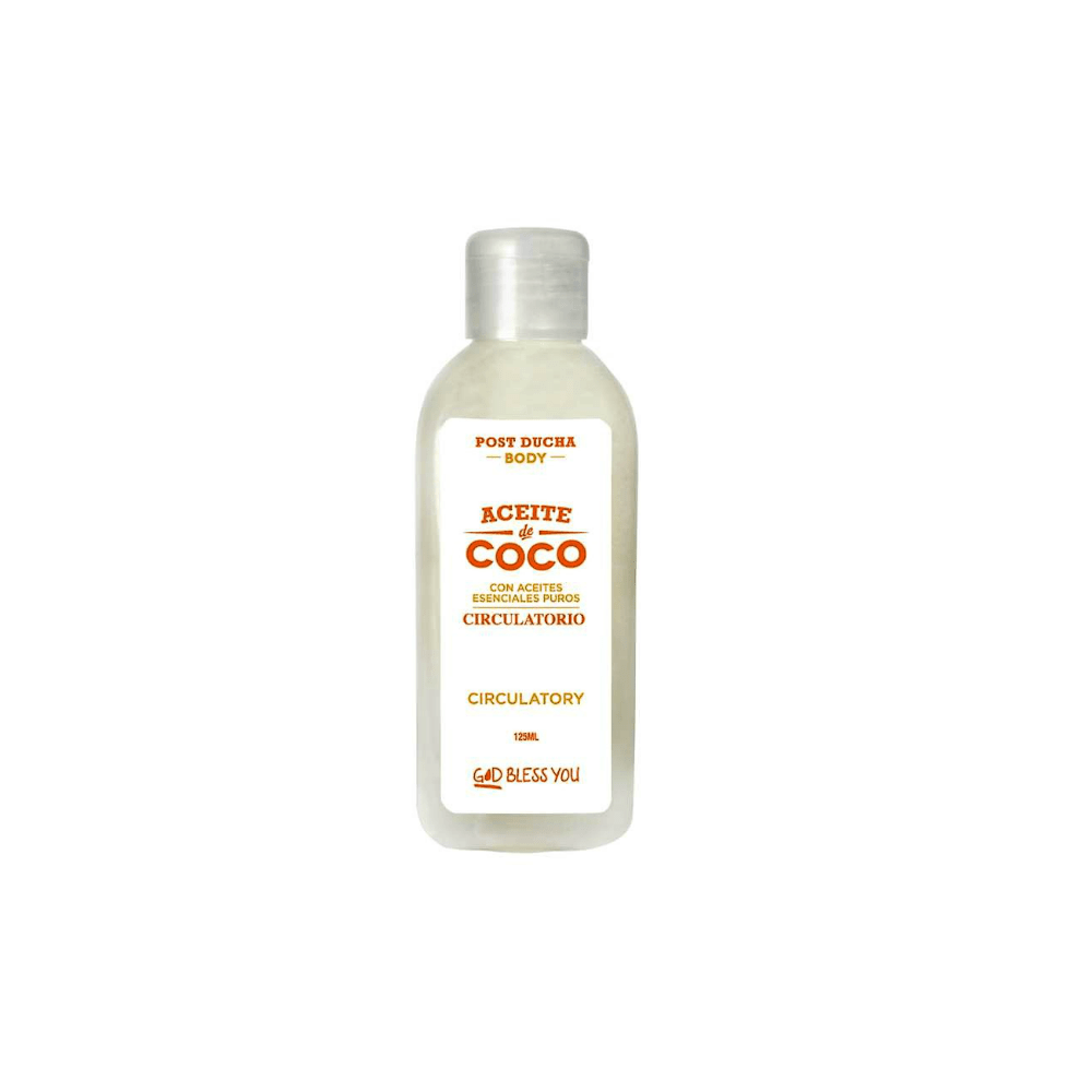 Aceite de Coco Post Ducha Circulatory en internet
