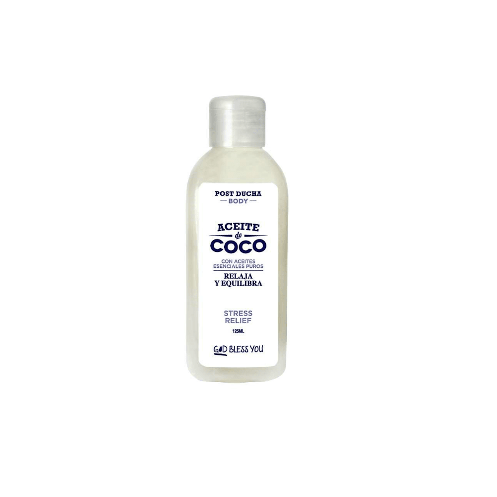Aceite de Coco Post Ducha Stress Relief