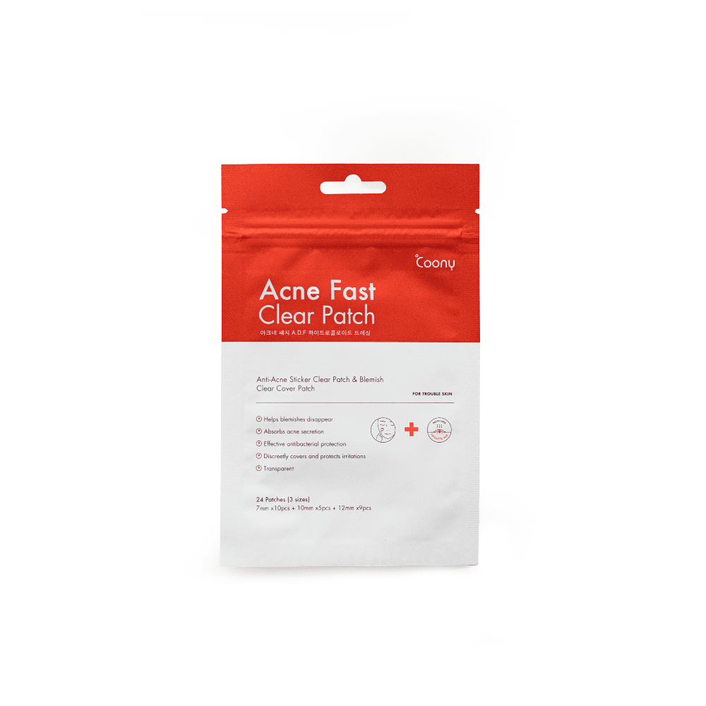 COONY ACNE FAST CLEAR PATCH - NUEVA