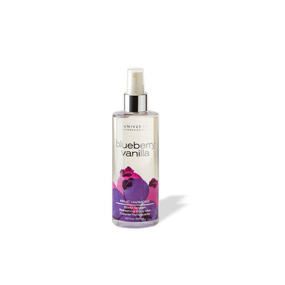Body Splash Blueberry Vanilla Universo Garden Angels