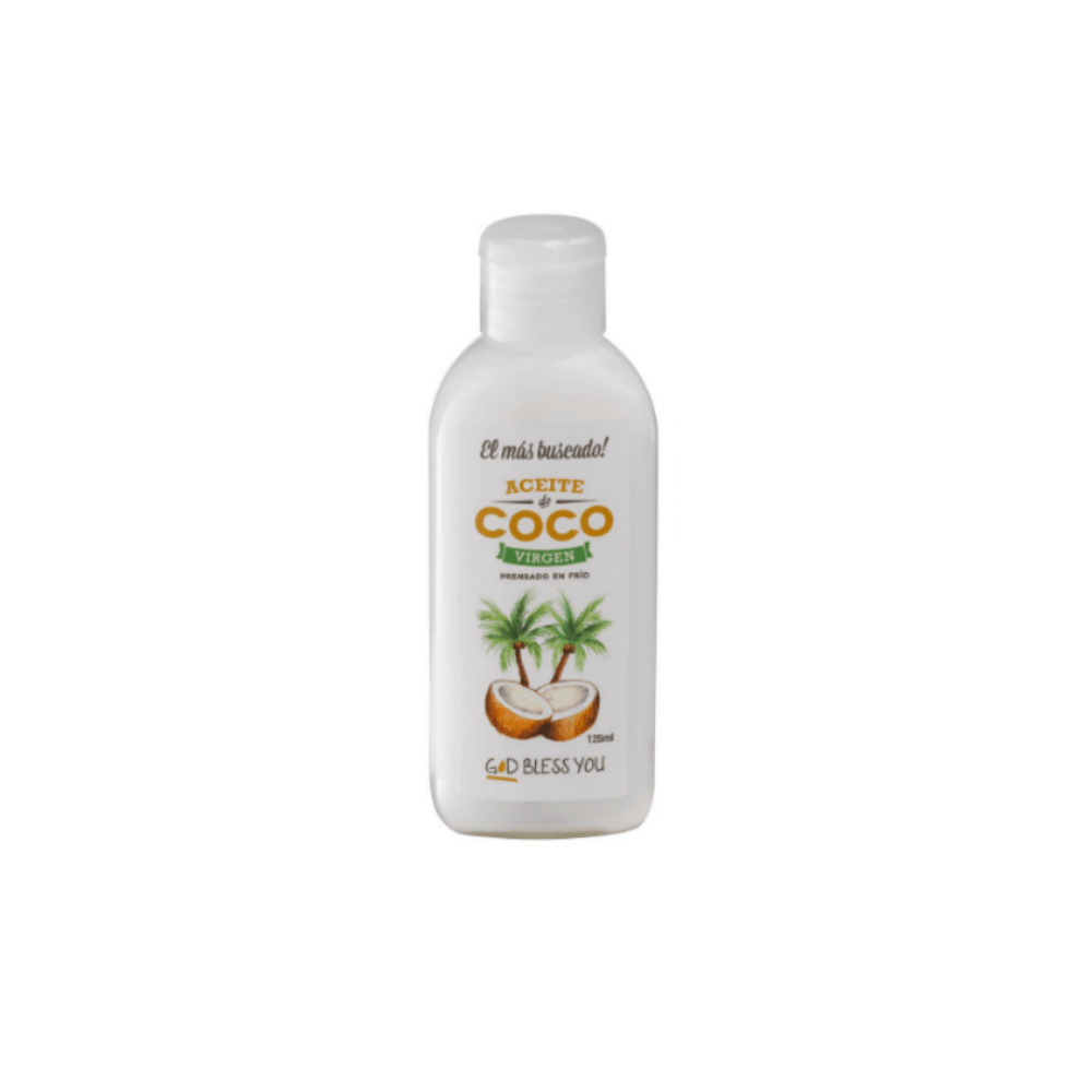 Aceite de Coco Virgen Premium 125 ml God Bless You
