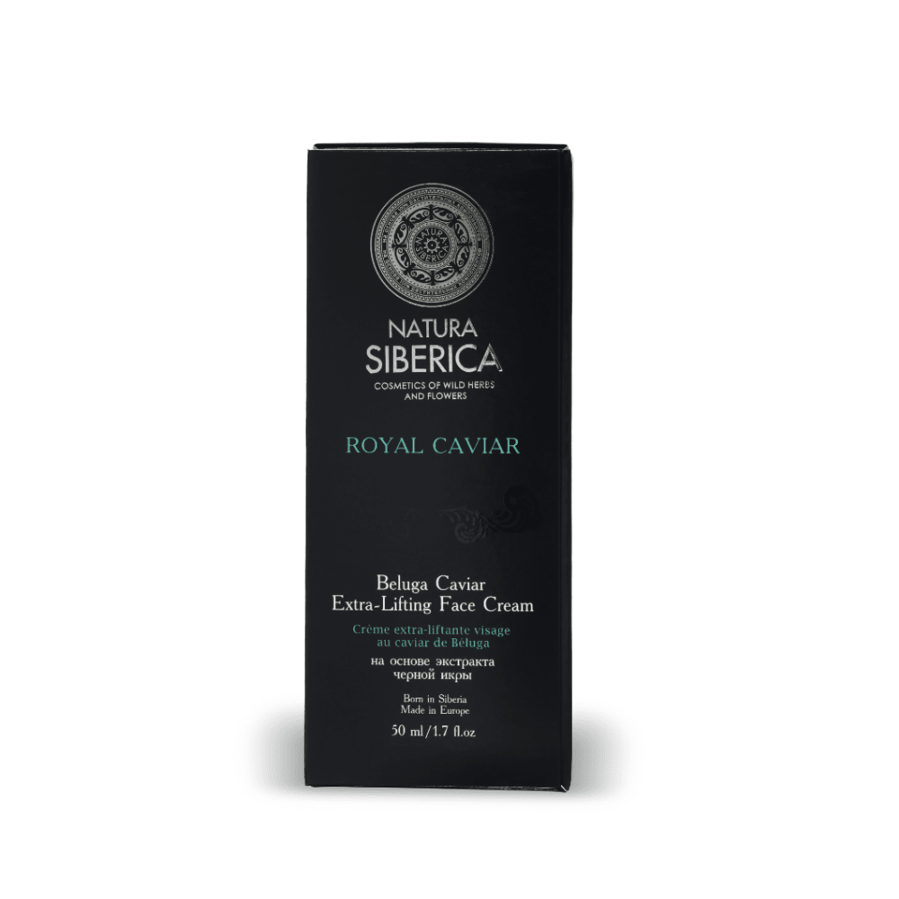 Crema Lifting Facial Royal Caviar - Efecto Intenso Anti Arrugas Natura Siberica