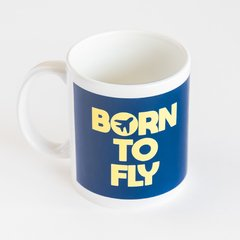 caneca born to fly