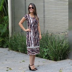 Vestido Animal Print Cobra