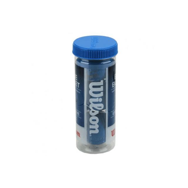 Bola De Frescobol Blue Bullet Tubo Com 3 Unidades Wilson - W b5ea50cd2fcea