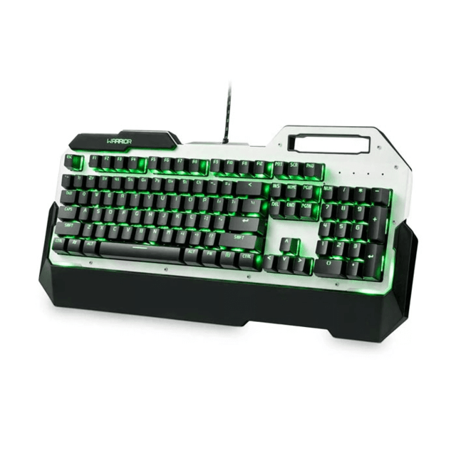 Teclado Warrior Gamer Mecânico com Led Single Color - TC217 - comprar online