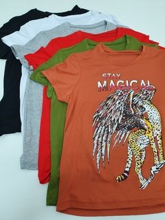1003 - Remera manga corta crepe staymagical - comprar online