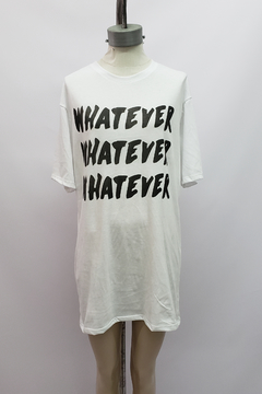 "AW21 - 10053 - Remeron algodon mc estampado ""whatever"" - comprar online"