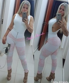 Calça fusion FLOWER Candy Rose na internet