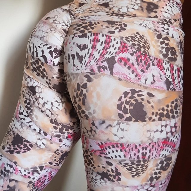 Legging plush up nude