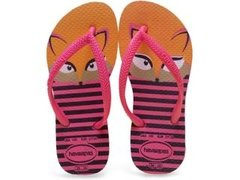 Chinelo Havaianas Kids Slim Fashion Maravilha Original
