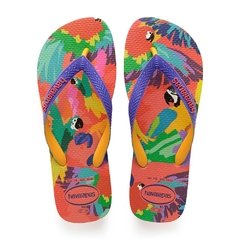Chinelo Havaianas Feminino Top Fashion Flamin - Colecao 2019