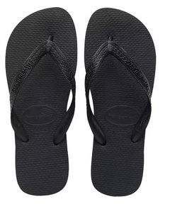 Chinelo Havaiana Top Preto / Branco - Original Nova