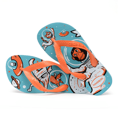 Chinelo Havaianas Infantil Kids Radical Azul Macaco Col2019 - comprar online