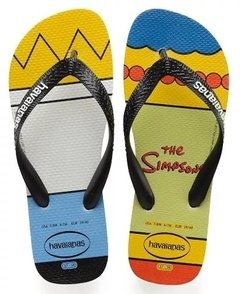 Chinelo Havaiana Simpsons Homer Marge - Sandalia Original