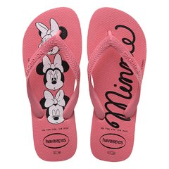 Chinelo Havaiana Fem. Top Disney Rosa Porcelana