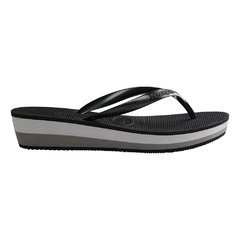 Chinelo Feminino Havaianas High Light Preto Cinza Dark 2020 - comprar online