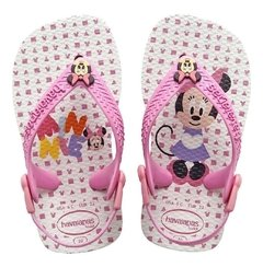 Chinelo Havaianas Baby Mickey Branco Turques 25/26 - Disney na internet
