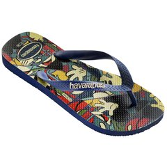 Chinelo Havaianas Masculina Disney Stylish Marinho Original na internet
