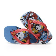 Chinelo Havaiana Baby Herois Superman Sandalia Colecao 2020 - comprar online