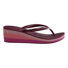 Chinelo Fem. Havaianas High Fashion Bordo Coleção 2020 - FootWorld - O Mundo a seus pés!