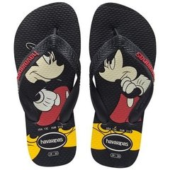 Chinelo Havaianas Disney Stylish Preto 41/42 Original Novo
