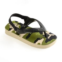 Chinelo Havaianas Baby Chic Bege P. Camuflada - Colecao 2019 na internet