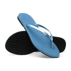 Chinelo Havaianas Feminino You Metallic Azul Original