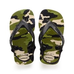 Chinelo Havaianas Baby Chic Bege P. Camuflada - Colecao 2019