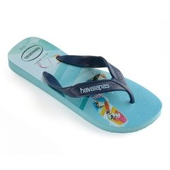 Chinelo Havaianas Masculina Surf Azul Colecao 2019 - comprar online
